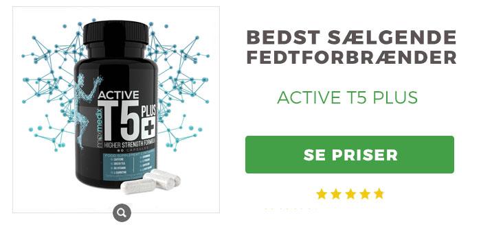fedtforbrændende piller active t5